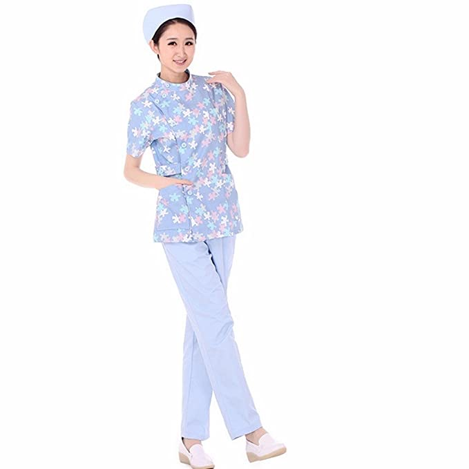 Xuanku Tienda De Ropa De Trabajo, Médico, Enfermera, Ropa De Manga Corta Bata Blanca De Laboratorio, Laboratorio, Farmacia, Ropa De Trabajo, Blanqueada De ...