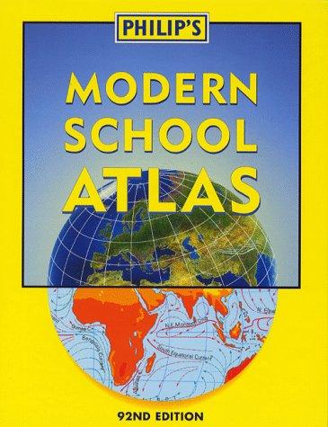 Philip's Modern School Atlas (World Atlas)
