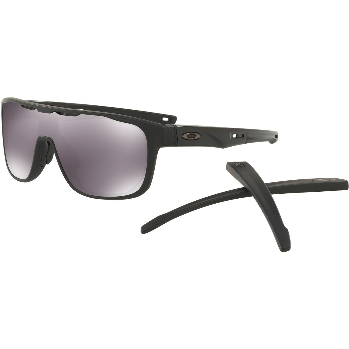 Oakley Crossrange Shield 938702 Gafas, MATTE BLACK/PRIZMBLACK, 31 Hombres