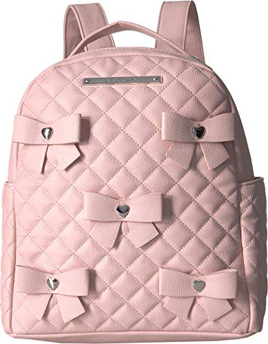 Betsey Johnson Women's Bows Backpack Blush One Size (Betsey Johnson Bag Pink Bow)