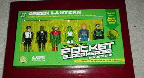 John Stewart Green Lantern Costume (Green Lantern Box Set of 3