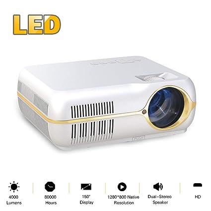 Proyector de video casero Proyector portátil con sistema de cine ...