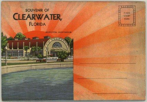 Clearwater Florida (1930's Souvenir Postcard Packet / Folder) ()