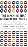 img - for The Machine That Changed the World by Womack. James P. ( 2007 ) Paperback book / textbook / text book