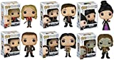 Funko Once Upon A Time: Rumplestiltskin, Emma, Regina, Prince Charming, Snow White, Hook POP! Vinyl Figures Set of 6