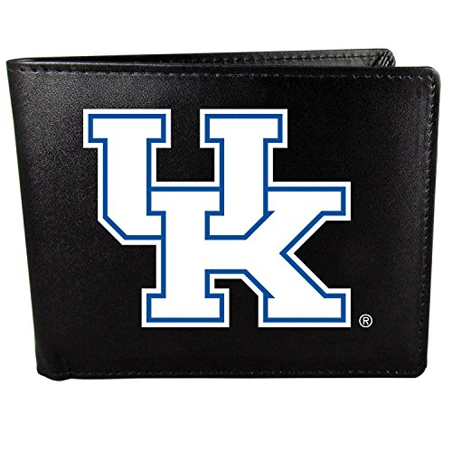 Siskiyou NCAA Kentucky Wildcats Bi-Fold Wallet Logo, Large, Black