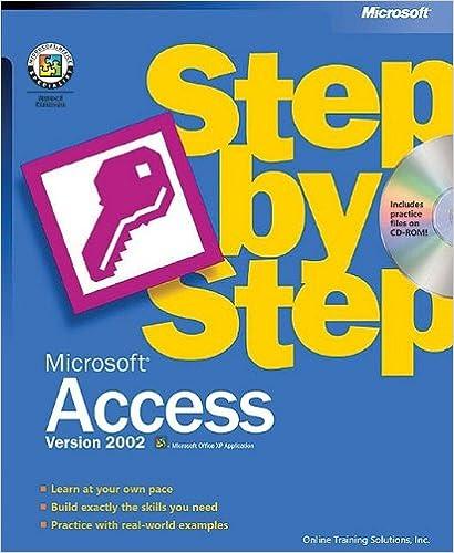E-kirjat mobi ladata ilmaiseksi Microsoft® Access Version 2002 Step by Step PDF