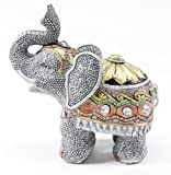 "Feng Shui 5""(H) Elephant Wealth Lucky Figurine Home Decor Housewarming Gift US Seller"