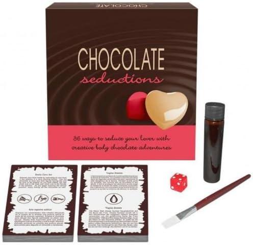 Chocolate Seductions Juego Erótico de Mesa para Parejas – Kheper ...