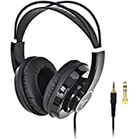 Freeboss HP288 Hi-Fi Semi-Open 50mm Drivers 3m Cord 3.5mm Plug 6.35mm adapter Over-Ear Headphones