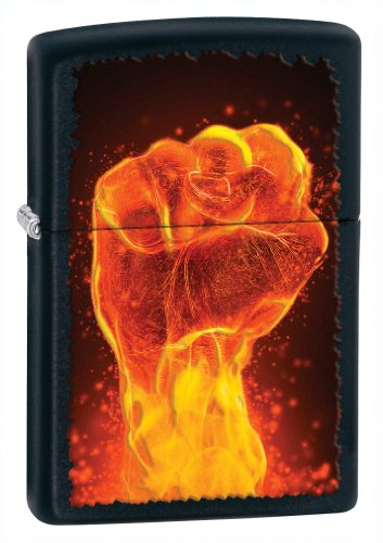 Zippo Black Matte Fire Lighter product image