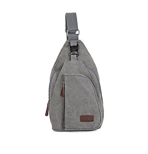e88ae341875 MicaCool Big Capacity Multipurpose Fashion Men Satchel Shoulder Bag New  Tide Chest Pack Crossbody Bag Sports Waist Bag Leisure Pocket for Key Photo  ...