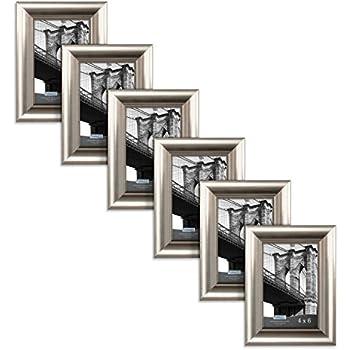 Amazon.com - Displays2go BWPF57S427 Bulk Picture Frames, 5 x 7 ...