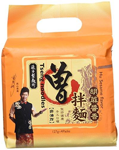 PAMI TSENG NOODLES - Hu Sesame Flavour - 4 pack, 508g