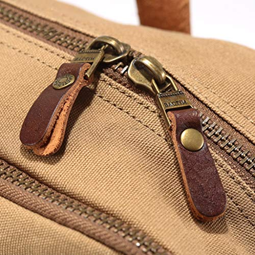 Shoulder Canvas Travel Backpack Bag Messenger Pll Casual Fashion Men's Handbags Retro TUAqWIw