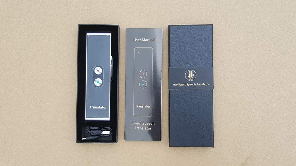 Languages for Travel Business Shopping Meeting Translator Black 33 New T8 Handheld Pocket Smart Voice Translator Real Time Speech Translation