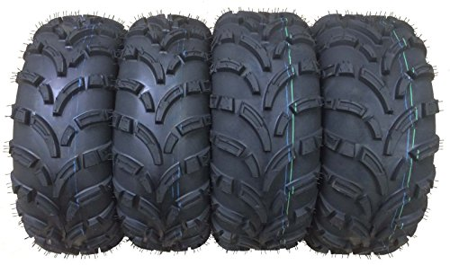 Set of 4 New WANDA ATV/UTV Tires 25x8-12 Front &