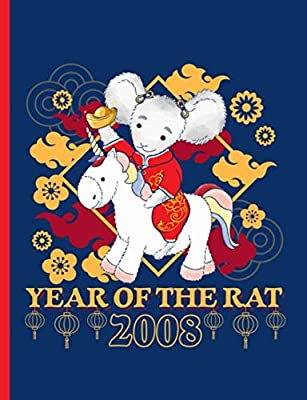 Year of the Rat 2008 Unicorn Composition Notebook: Happy Chinese New Year, College Ruled Note Book (Chinese Birthday Gifts Vol 10)