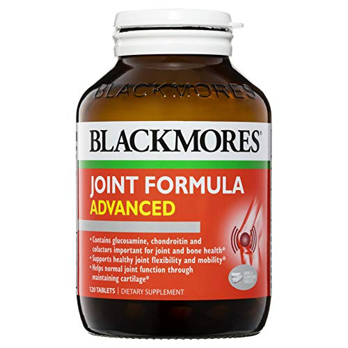 BLACKMORES - JOINT FORMULA ADVANCED 120 Tablets - Mobility & Joint Supplement Joint Pain Relief Support (Best Glucosamine Brand Australia)