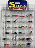 ice jigs panfish - Sitka 24 Pc Ast Ice Jig Kit