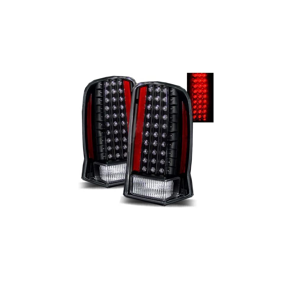 2003 2006 Cadillac Escalade ESV LED Tail Lights (Red/Clear)