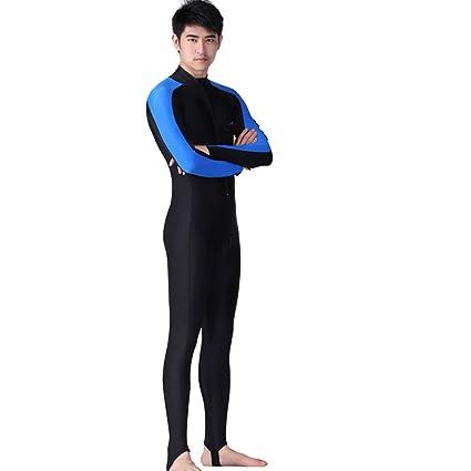 Traje de Surf para Hombre Mujer,Traje de Buceo para Adulto Unisex (Azul Rosado)