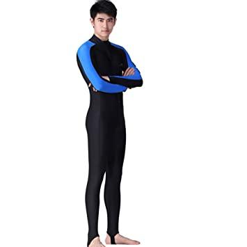 cb40c3e230 Full Length Wetsuit Men Women Surfing Suit All-in-one Long Sleeve Swimsuit  for