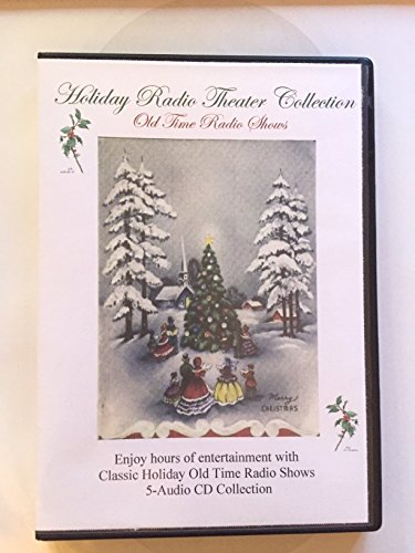 Holiday Radio Theater Case Collection V1-5 Audio CDs-Radio Christmas Classics