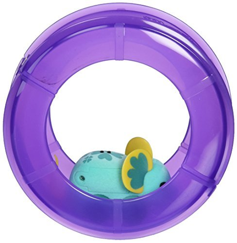 Little Live Pets Mice - Lil Mouse Wheel Pack - Lucky Loulou - Purple Wheel by Character Options