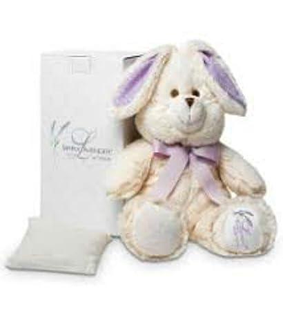 Amazon.com: ShoppeShare - Conejo de peluche de lavanda con ...