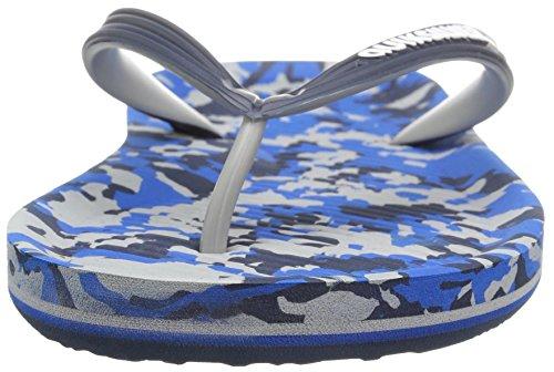 Men's Grey Haleiwa Blue Blue Quiksilver Print Sandal AO4Xp
