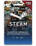 Diverse Steam Guthaben Karte 50 Euro