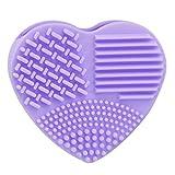 BEAUTYVAN Washing Brush 2018 1Pcs Silicone Fashion Egg Cleaning Glove Makeup Washing Brush Scrubber Tool Cleaners (Purple)