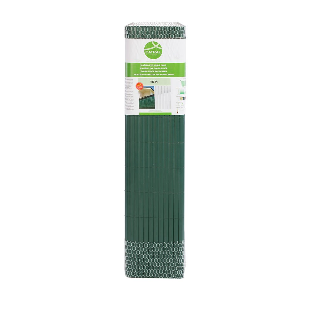 Catral 42010116 cañizo D C, verde, 1000 x 3 x 90 cm