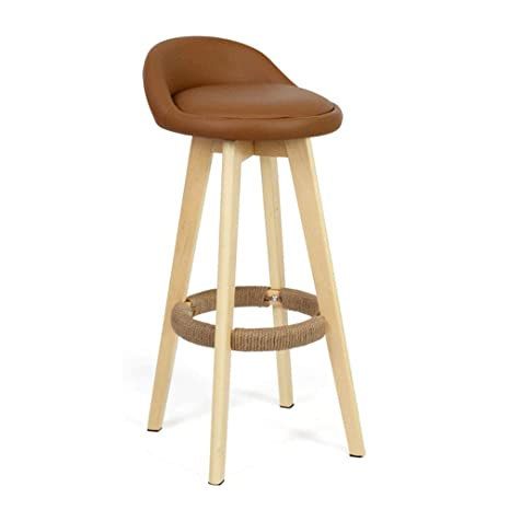 Cool Amazon Com Sackderty Stool Wooden Barstools High Chairs Caraccident5 Cool Chair Designs And Ideas Caraccident5Info
