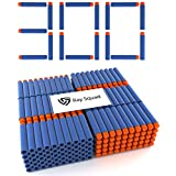 300-Pieces Set, Ultimate Nerf Foam Toy Darts By Raytheon Toys – Premium Refill Bullets For N-Strike Guns, Universal Mega Pack, Firm & Safe Nerf Accessories, Amazing Precision & Control