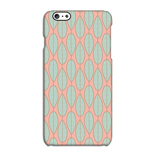 Pastel Leaves Deflector Back Case for Apple iPhone 6 6S Plus