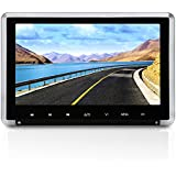 NAVISKAUTO 10.1 Inch Car Headrest DVD Player HD 1080P TFT LCD Screen Headrest Monitor with HDMI Port and Remote Control and Lighter Charger (CH1008B)