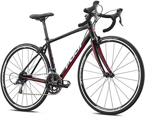 700 C Carreras Fuji Finest 2.3 Endurance Women – Bicicleta para mujer, color negro, rosa, tamaño 47 cm, tamaño de cuadro 47.00 centimeters: Amazon.es: Deportes y aire libre