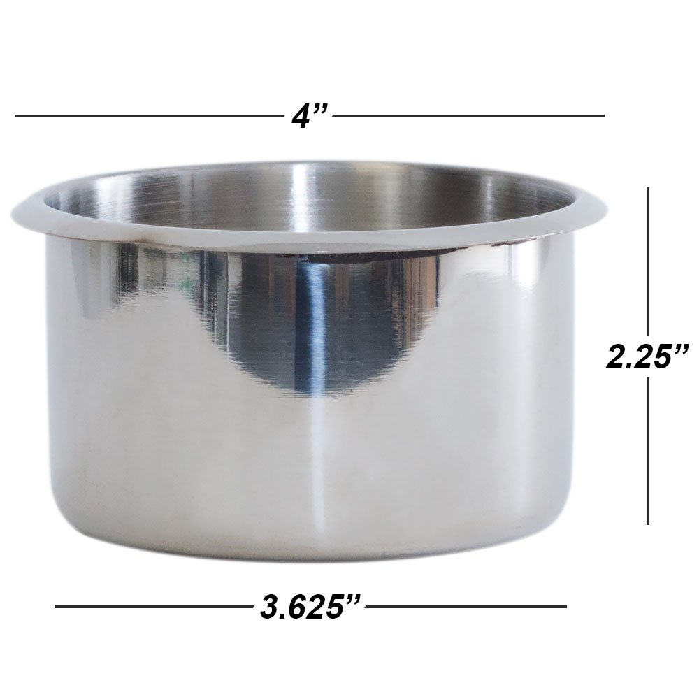 Small, Jumbo and Dual GSE Games /& Sports Expert Stainless Steel Drop-in Cup Holders