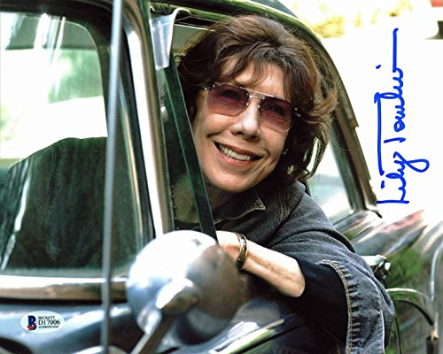Tomlin Signed Photo - Lily Tomlin Grandma Authentic Signed 8x10 Photo Autographed BAS #D17006