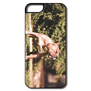 IPhone 5 5S Cases, Beautiful Dog White/black Cover For IPhone 5 5S