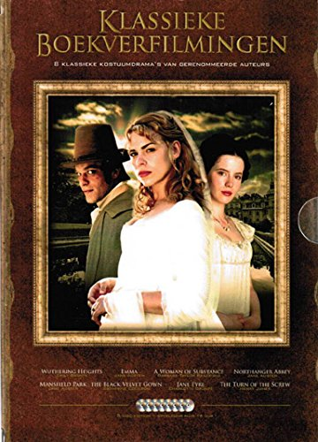 Classic Book Adaptations Collection - 8-DVD Box Set ( Emma / Jane Eyre / Northanger Abbey / Mansfield Park / The Black Velvet Gown / A Woman of Subs [ NON-USA FORMAT, PAL, Reg.2 Import - Netherlands ] by Dutch Film Works