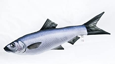 Gaby Cojín Pescado Hering 60 cm Manta Peces kuscheltie ...