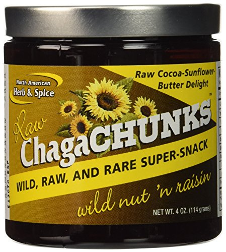 North American Herb and Spice Chagachunk Powder, Nut 'n Raisin (Nondairy), 4 Ounce