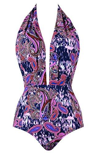 Unicathy Ladies Designer Swimwear One Piece Plus Size for (Ladies Designer Suits)