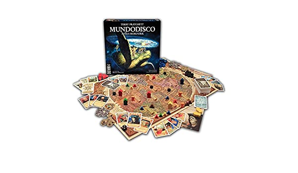 Mundodisco El Juego De Tablero Terry Pratchett: Amazon.es: Juguetes y juegos