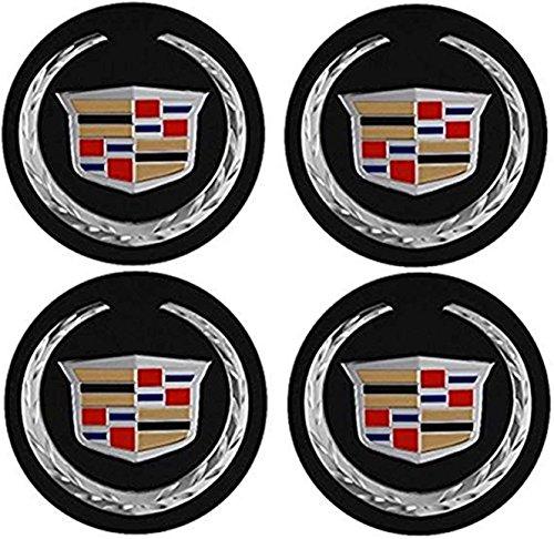 Amazon.com: gvfdsghdgh 4pcs Repuesto de tapacubos para Cadillac DTS SRX CTS CTS-V XLR 2004 – 2009: Automotive
