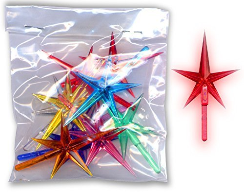 Assorted Stars For Ceramic Christmas Trees (20 Pcs)