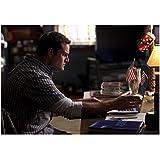 Glee Max Adler as Dave Karofsky on computer 8 x 10 Inch Photo
